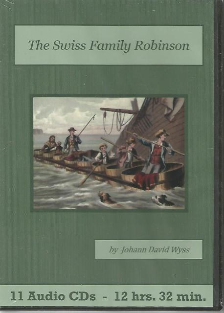 Swiss Family Robinson Audiobook CD Set, Johann David Wyss