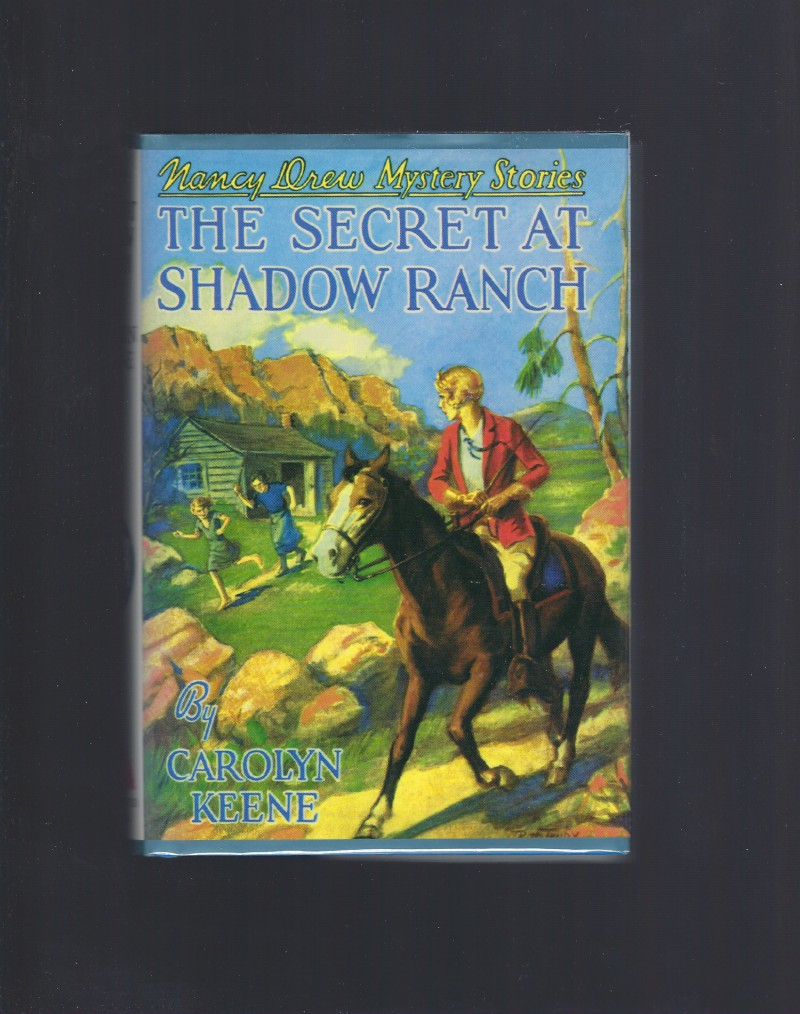 The Secret at Shadow Ranch Nancy Drew #5 Applewood HB/DJ, Carolyn Keene; Russell H. Tandy [Illustrator]; Mildred Wirt Benson [Introduction];