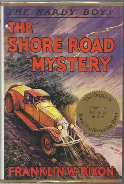 The Shore Road Mystery #6 Hardy Boys Applewood HB/DJ, Franklin W. Dixon