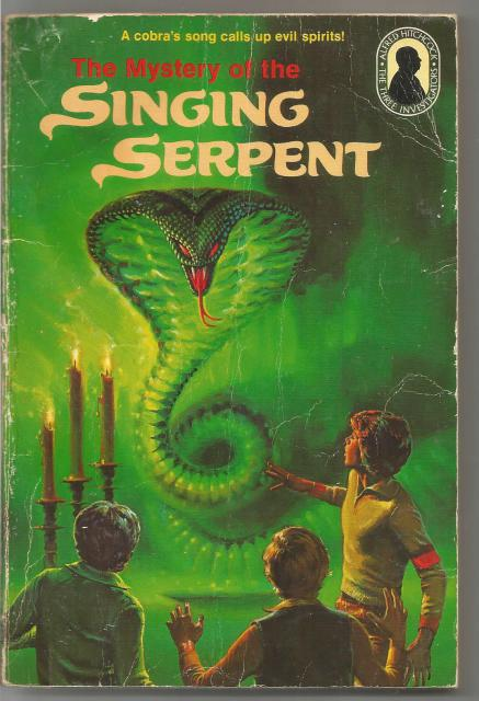 The Mystery of the Singing Serpent The Three Investigators #17, Hitchcock, Alfred