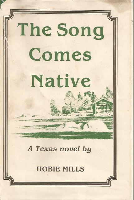 Image for The Song Comes Native Signed By Author Hobie Mills HB/DJ