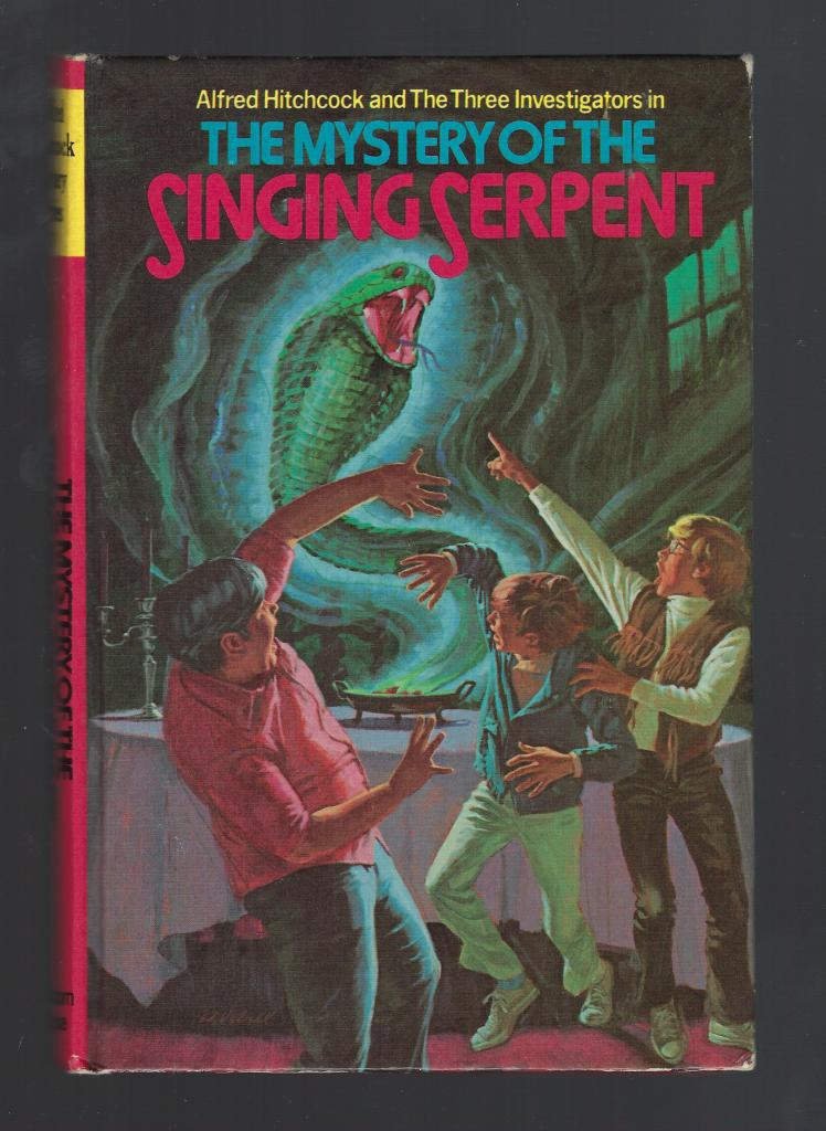 The Mystery of the Singing Serpent Three Investigators #17 First Printing Hardback, M. V. Carey; Ed Vebell [Illustrator]