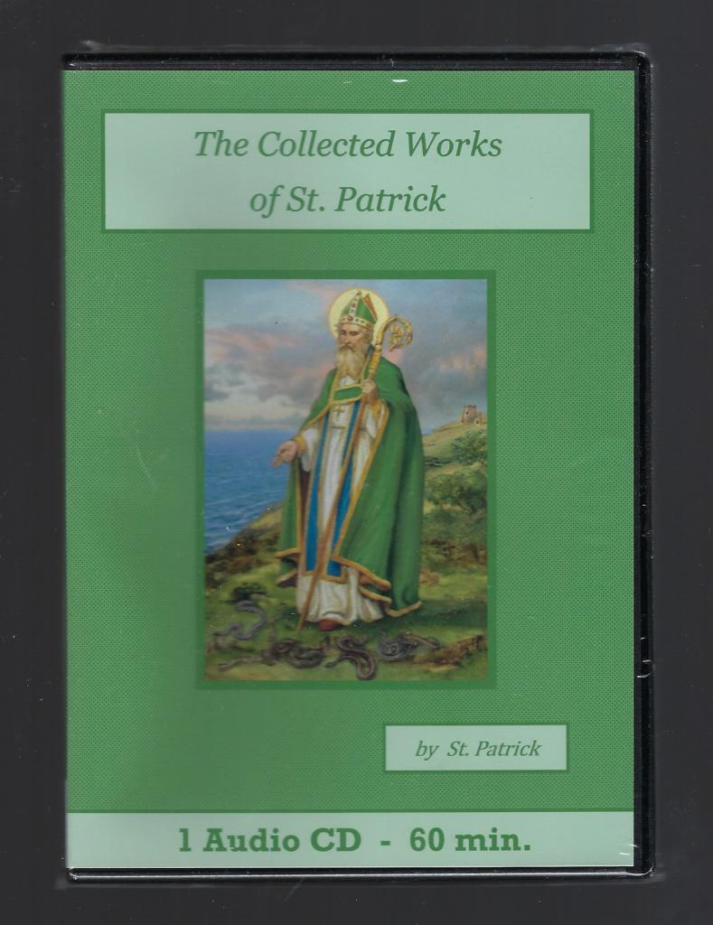 Image for Collected Works of Saint Patrick Catholic Audiobook CD Set