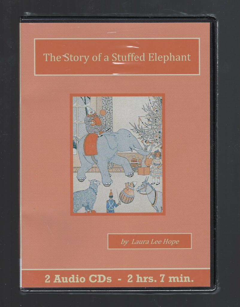 The Story of a Stuffed Elephant Children's Audiobook CD Set, Laura Lee Hope