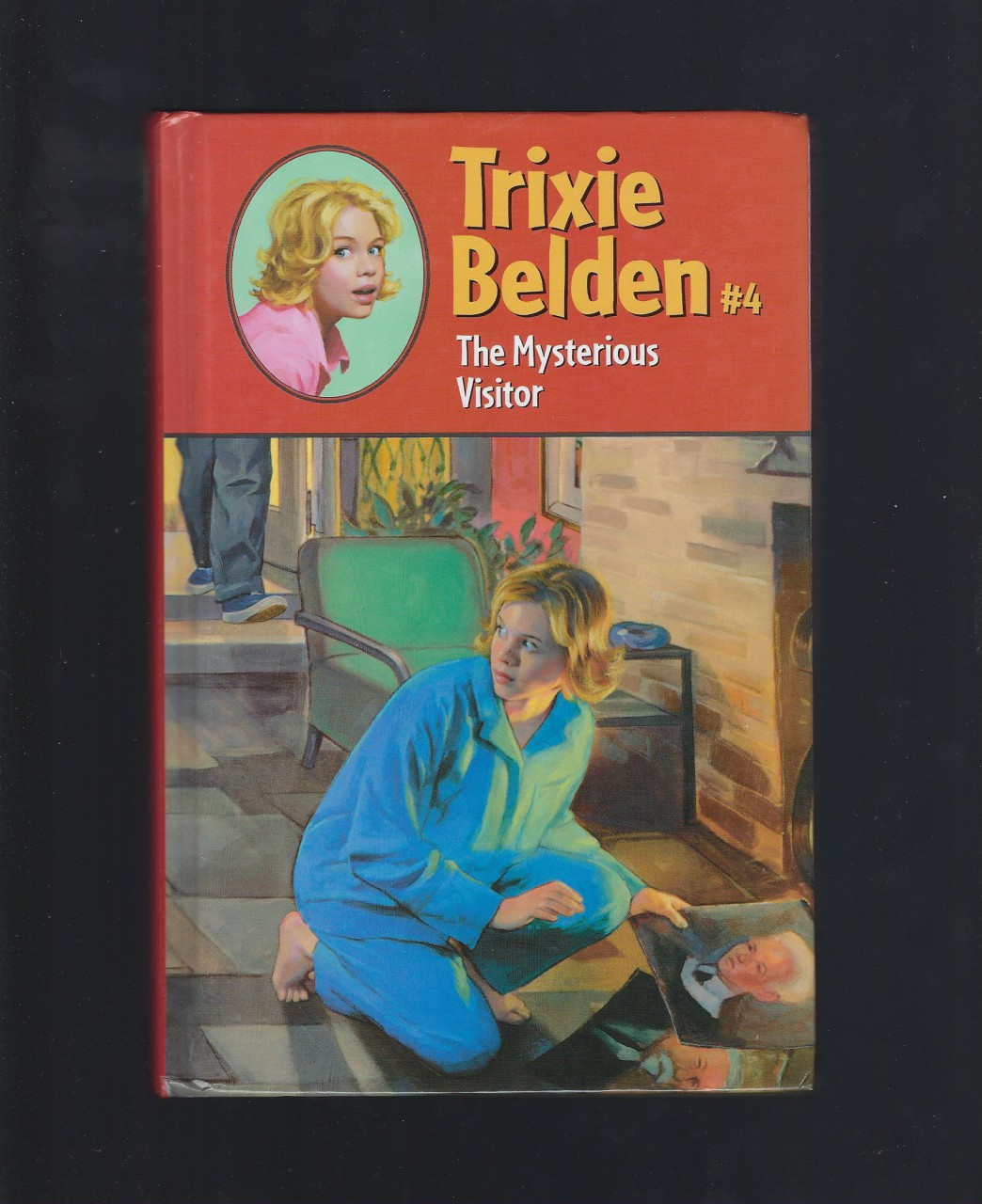 Trixie Belden and The Mysterious Visitor #4 Hardback, Campbell, Julie