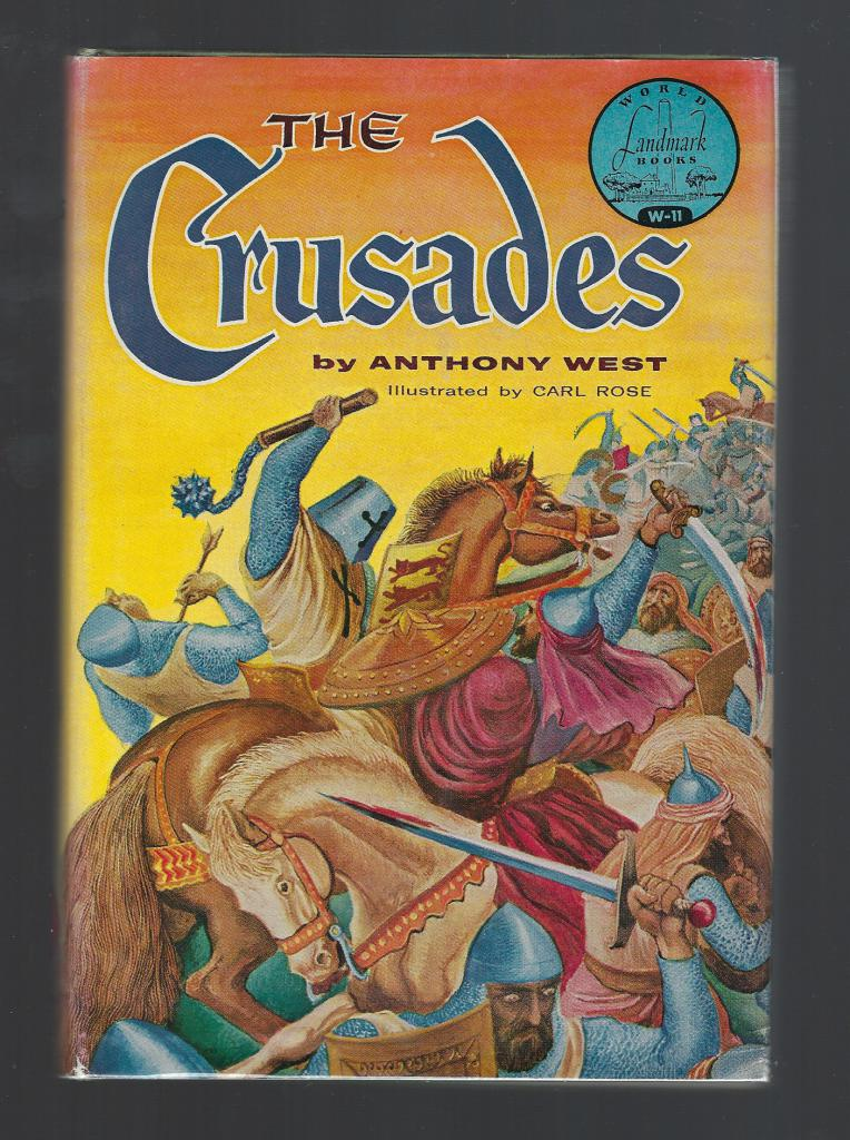 Image for The Crusades World Landmark #11 w Author Letter HB/DJ