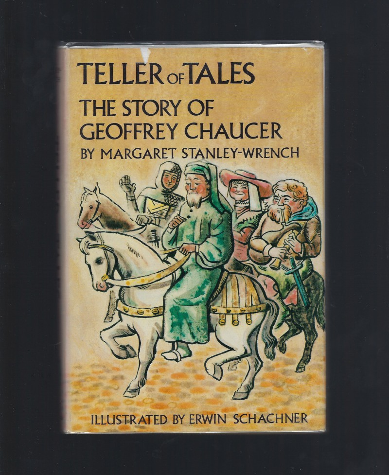 Teller of tales, the story of Geoffrey Chaucer (Credo books [24]), Stanley-Wrench, Margaret