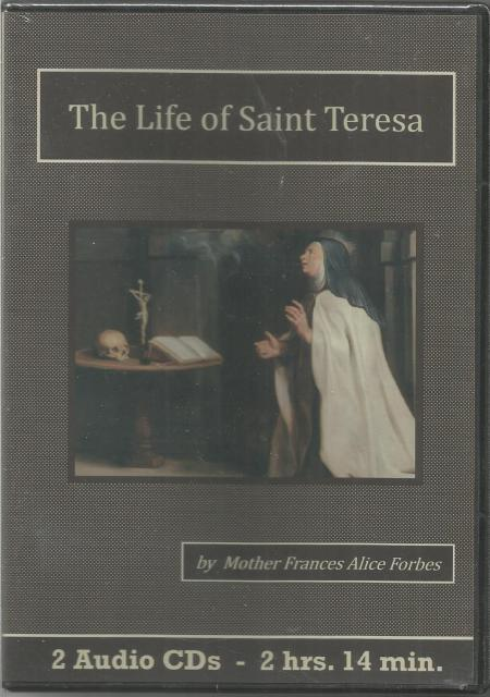 Image for The Life of St.Teresa by Mother Frances Alice Forbes Audiobook CD Set