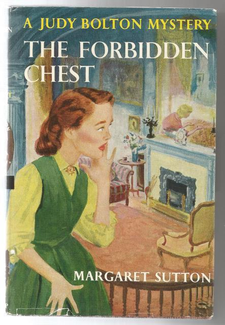The Forbidden Chest #24 Judy Bolton Mystery Series HB/DJ, Margaret Sutton