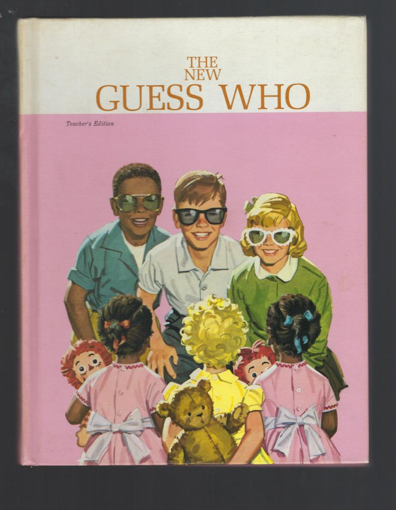 The New Guess Who Teacher's Edition 1965 Ethnic Ed 1st Print!, Helen M. Robinson, Marion Monroe, A. Steryl Artley