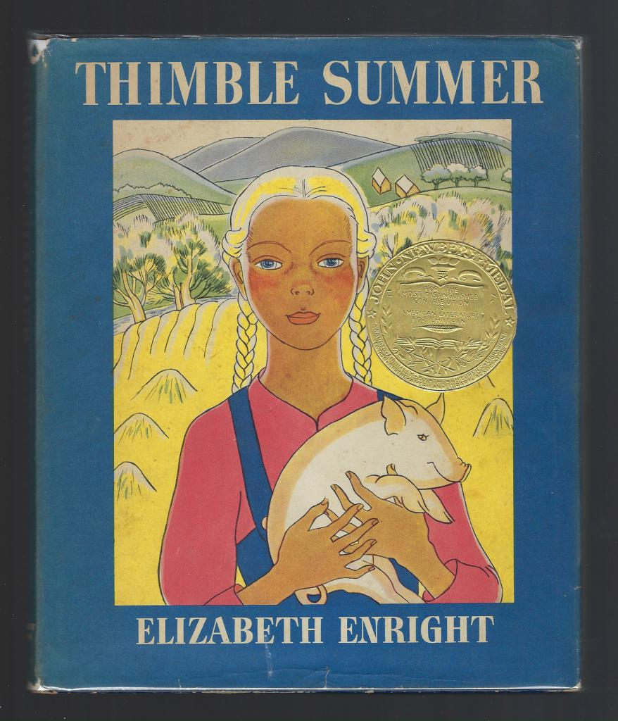 THIMBLE SUMMER by Elizabeth Enright HB/DJ, Enright, Elizabeth; Enright, Elizabeth [Illustrator]