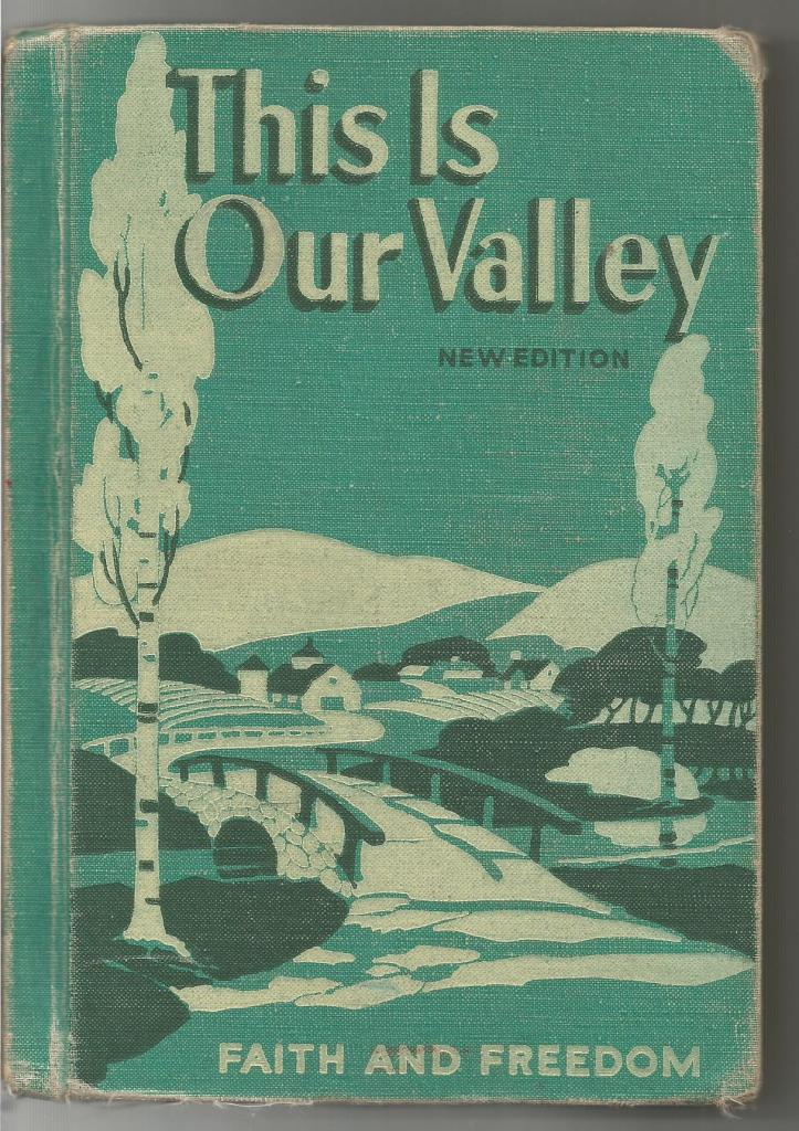 This Is Our Valley 1953 Faith and Freedom Reader, Sister Mary Marguerite