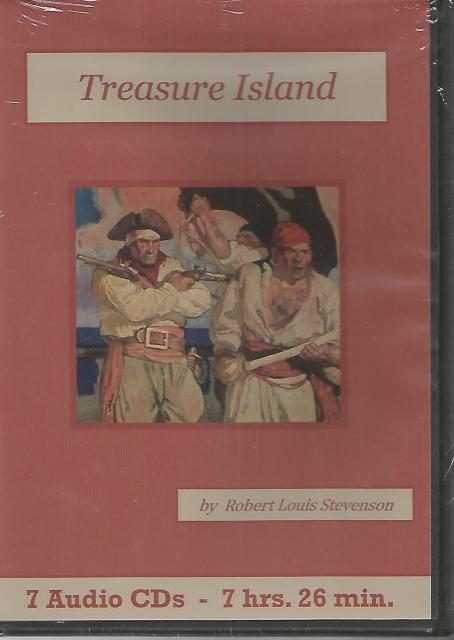 Treasure Island Audiobook CD Set, Robert Louis Stevenson