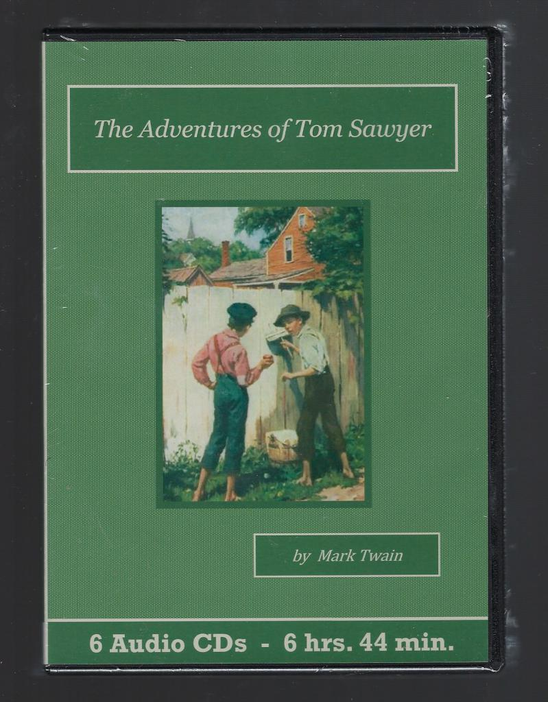 The Adventures of Tom Sawyer Audiobook CD Set, Mark Twain