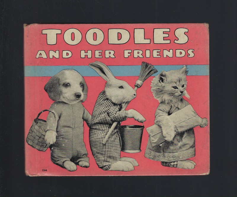 Toodles and Her Friends FIRST EDITION 1936 Hardback, Harry Whittier Frees