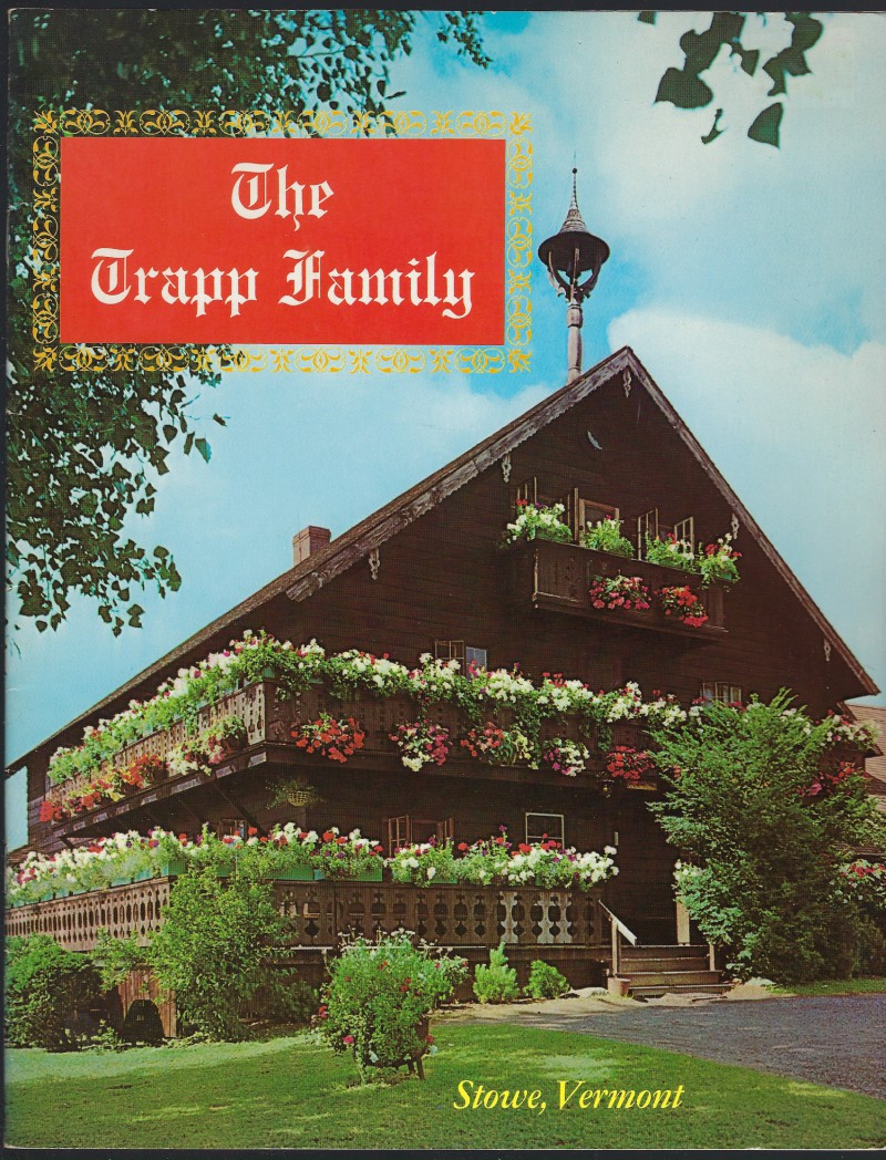 Signed By Maria Von Trapp - The Trapp Family Large Booklet (Stowe, Vermont), Non Stated [Editor]