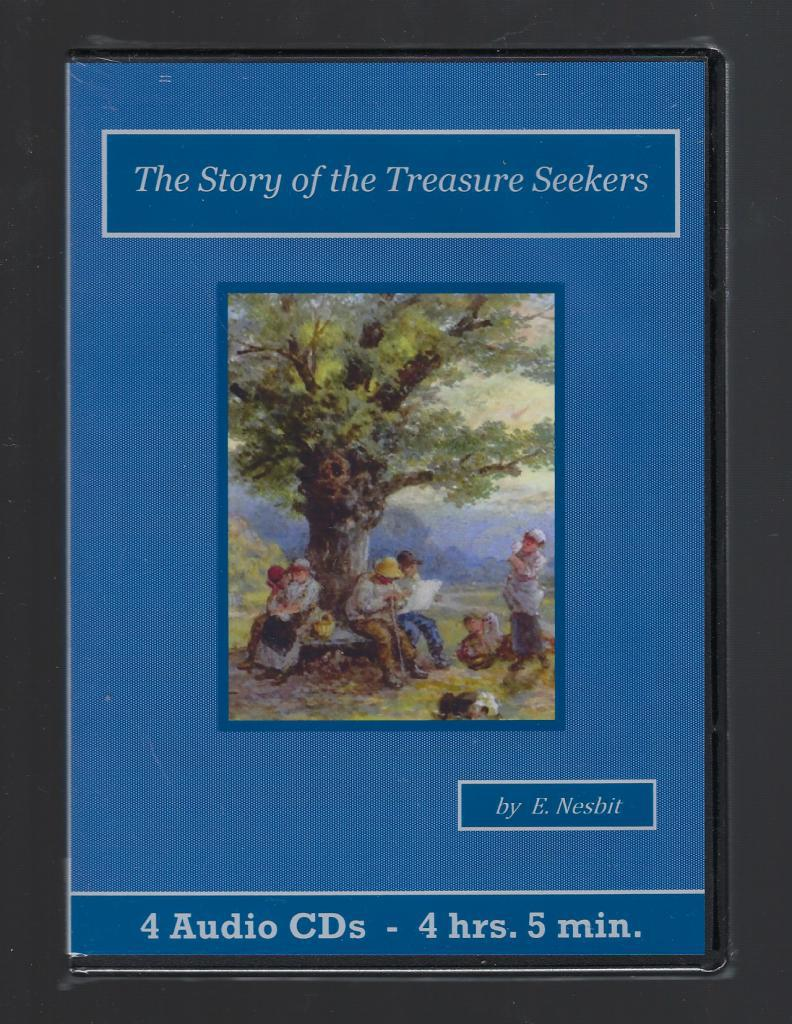 The Story of the Treasure Seekers Audiobook CD Set, E. Nesbit