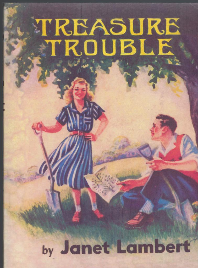 Image for Treasure Trouble (Christy Drayton Story) by Janet Lambert