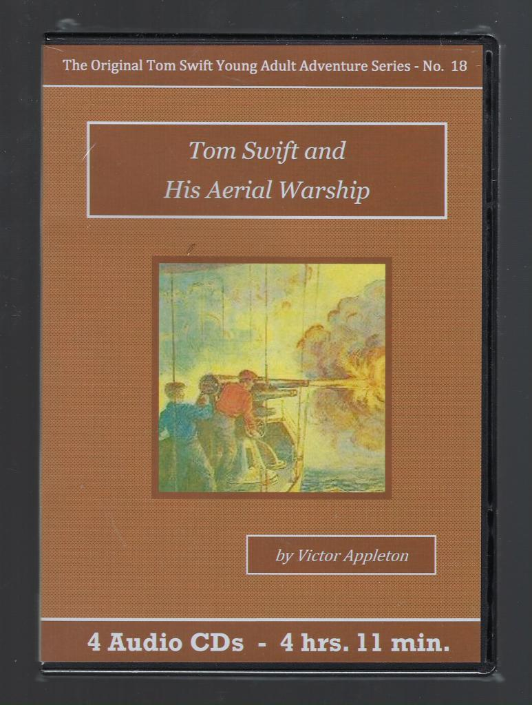 Tom Swift and His Aerial Warship Audiobook CD Set, Victor Appleton