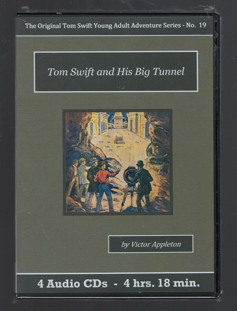 Tom Swift and His Big Tunnel Audiobook CD Set, Victor Appleton