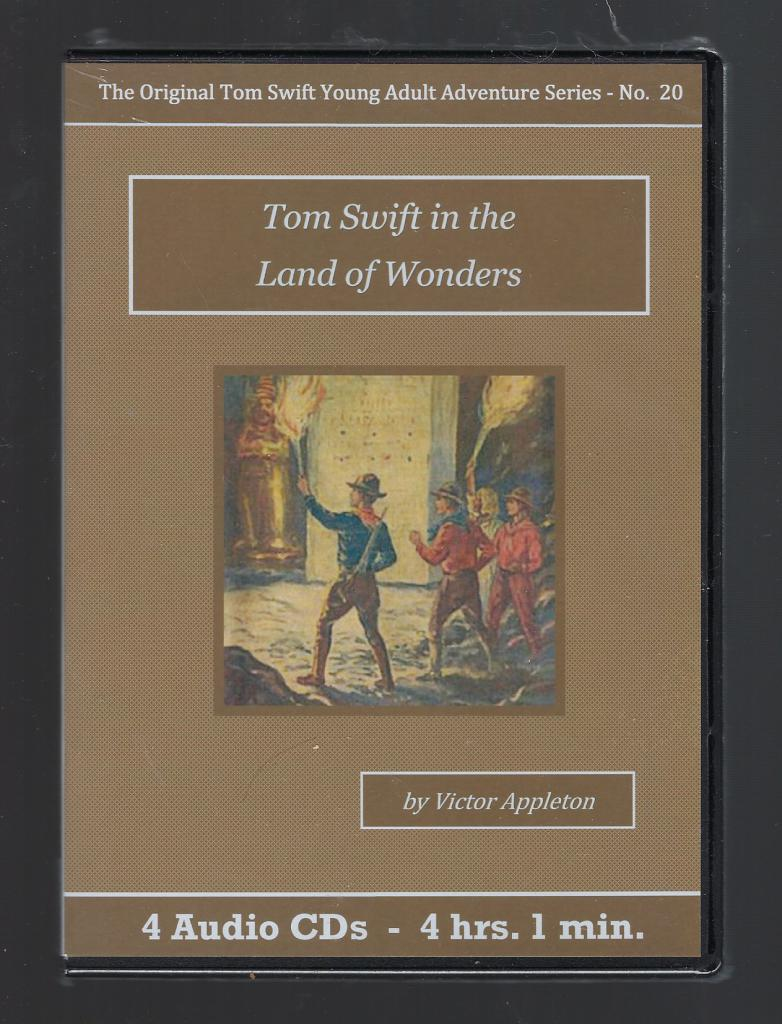 Tom Swift in the Land of Wonders Audiobook CD Set, Victor Appleton
