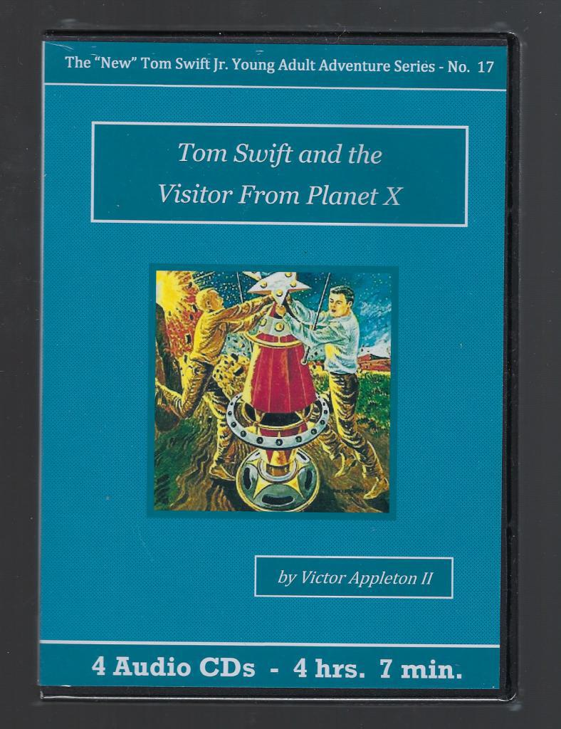 Tom Swift and the Visitor From Planet X Audiobook CD Set, Victor Appleton