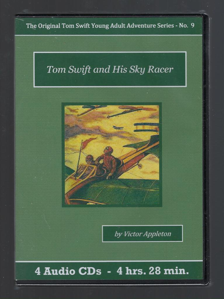 Tom Swift and His Sky Racer Audiobook CD Set, Victor Appleton