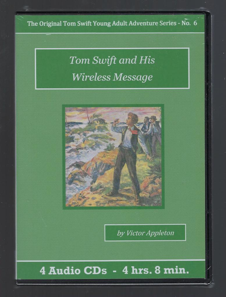 Tom Swift and His Wireless Message Audiobook CD Set, Victor Appleton