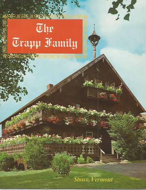 Signed By Maria Trapp The Trapp Family Large Booklet (Stowe, Vermont), Non Stated [Editor]