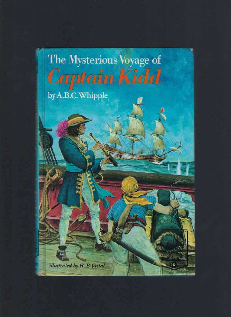 The Mysterious Voyage of Captain Kidd #122 Landmark RARE, A. B. C. Whipple