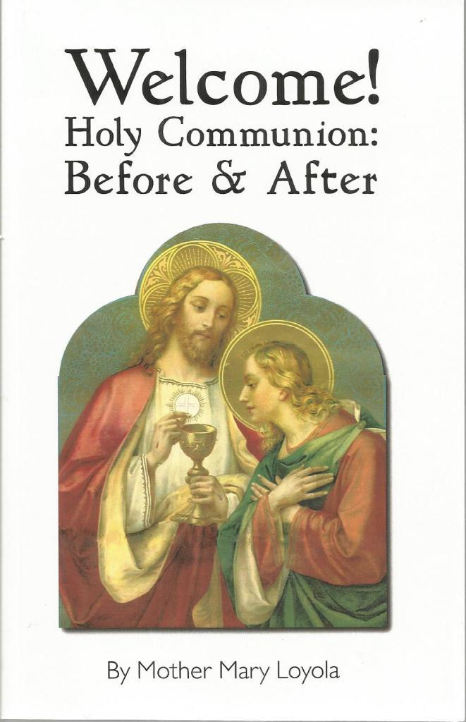 Image for Welcome! Holy Communion: Before & After