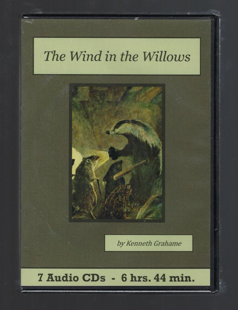 The Wind in the Willows Audiobook CD Set, Kenneth Grahame