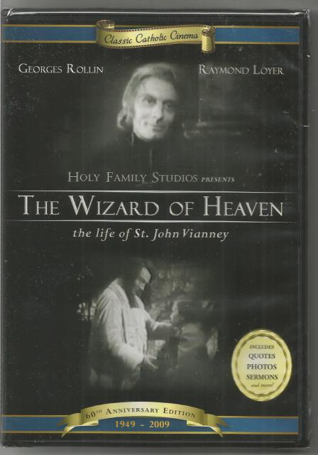 Wizard of Heaven - Life of St. John Vianney 60th Anniversary Edition DVD