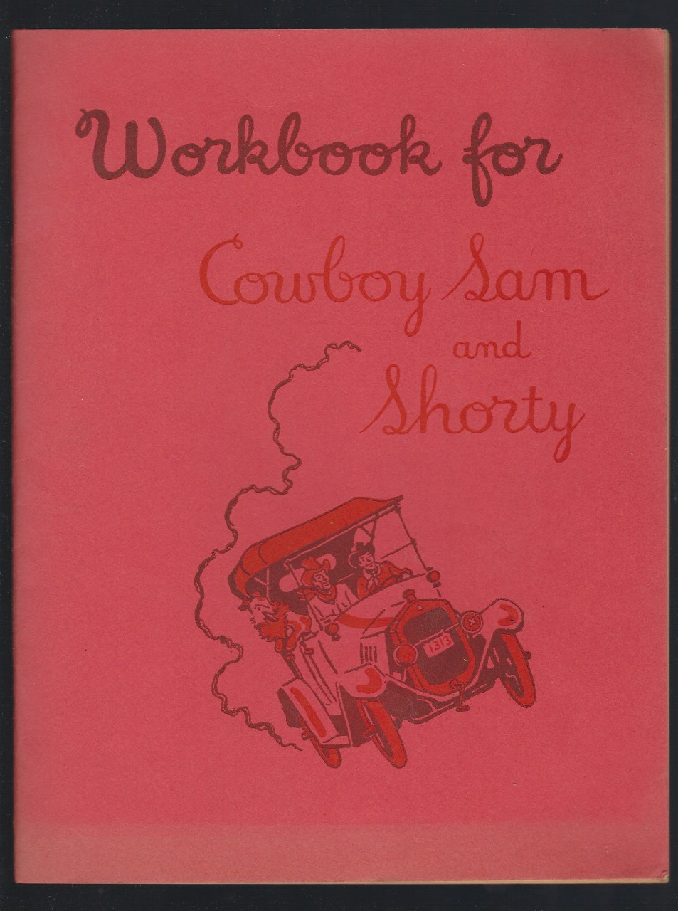 Workbook for Cowboy Sam and Shorty 1956, Marjorie Ragsdale