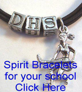 Bracelets School Spirit