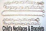 GC child necklaces bracelets