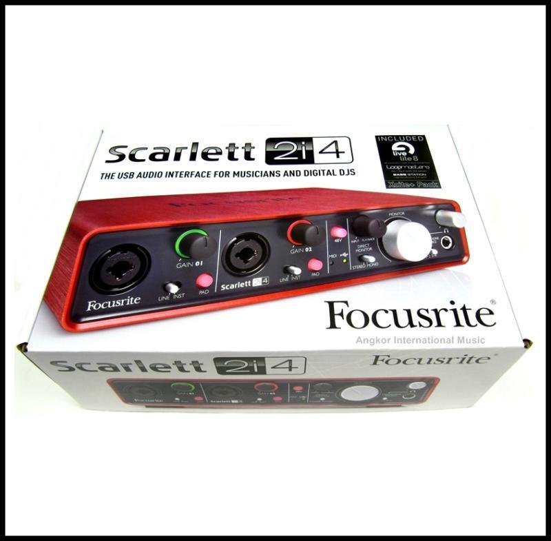 Focusrite-Scarlett-2i4-USB-Audio-Interface-2-in-4-out-Home-Studio-Recording