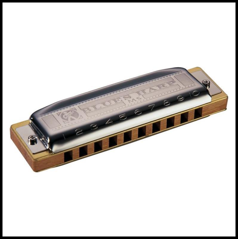 Hohner 532 Blues Harp MS-Series Harmonica Key of G#/Ab  Made in Germany