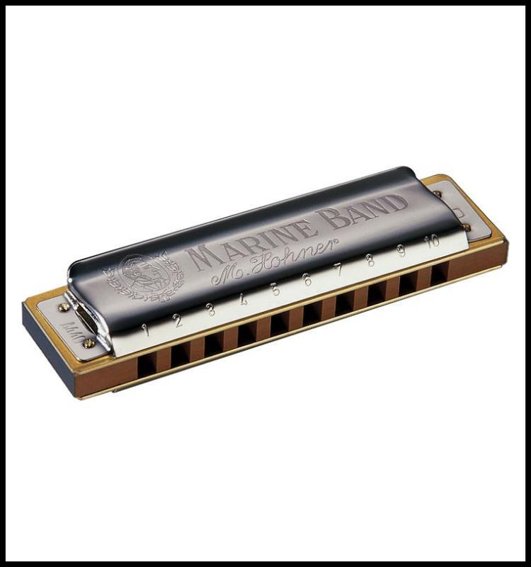 Hohner 1896 Marine Band Harmonica Blues harp  Key of G# Made in Germany